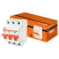Автоматический выключатель ВА47-29 3Р 25А 4,5кА х-ка С TDM